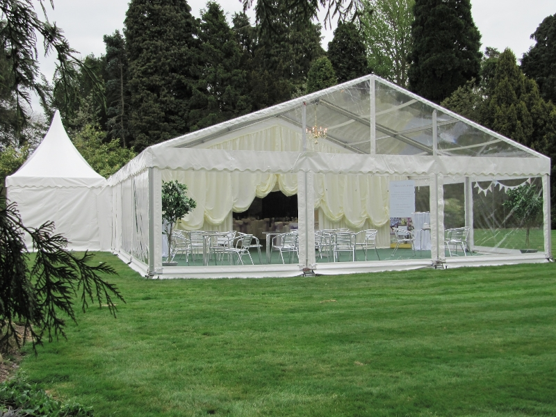 wedding marquee with china hat pagoda 2