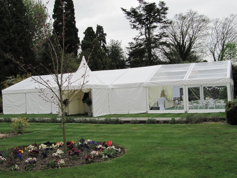 wedding marquee with china hat pagoda 3