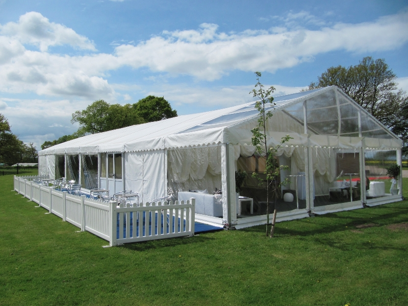 marquee decked area 2