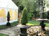 marquee in formal garden 2