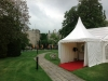 Hazlewood Castle Wedding Marquee China Hat Entrance Pagoda