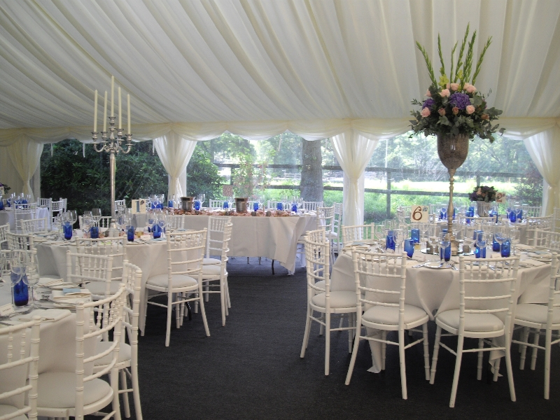 stunning wedding marquee interior tables centrepieces
