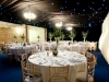barn lining wedding interior transformation 2