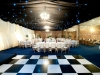 barn lining wedding interior transformation 4