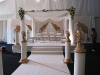 asian wedding marquee interior mandap