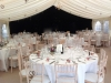 Newburgh Priory ruin wedding marquee