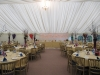striking asian wedding marquee interior