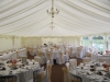 romantic wedding marquee interior