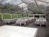 Birstwith Hall wedding marquee interior