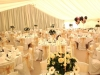 Wedding Marquee with Ivory Linings and Reveal