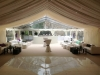 Hazlewood Castle Wedding Party Marquee Linings