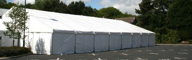 Industrial Marquee Hire Image