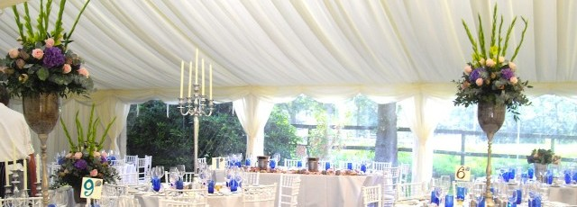 wedding marquee hire decorations image