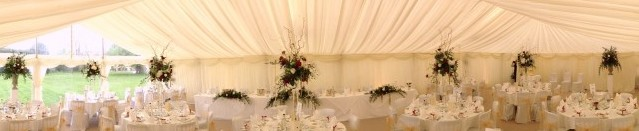 wedding marquee hire image