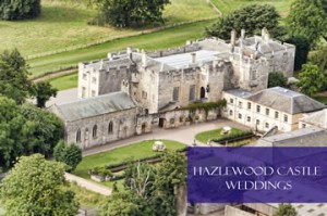Hazlewood Castle Wedding Marquees